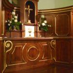 Ostateczny wygląd pierwszej części Ołtarza głównego.